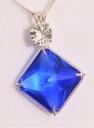 Siberian Blue Quartz Magician Stone with Clear Quartz