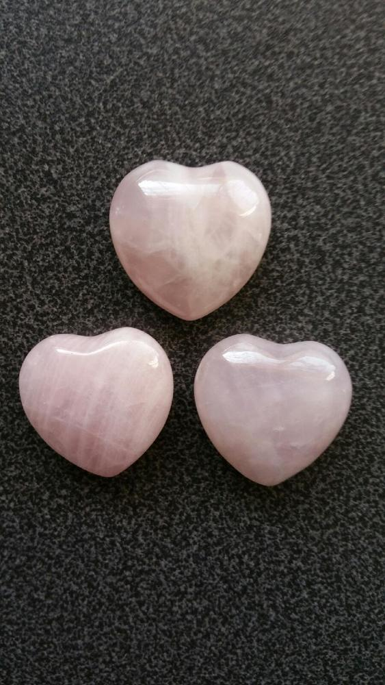 Mount Shasta To Sedona Blessed Pure Rose Quartz Crystal Love Heart
