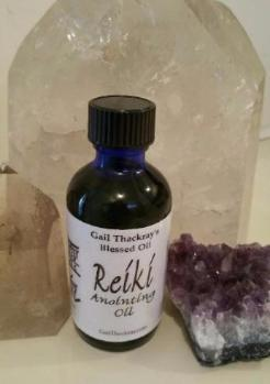 Blessed Sacred Reiki Anointing Oil