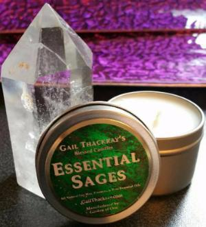 Blessed Essential Sages Natural Soy Candle Tin