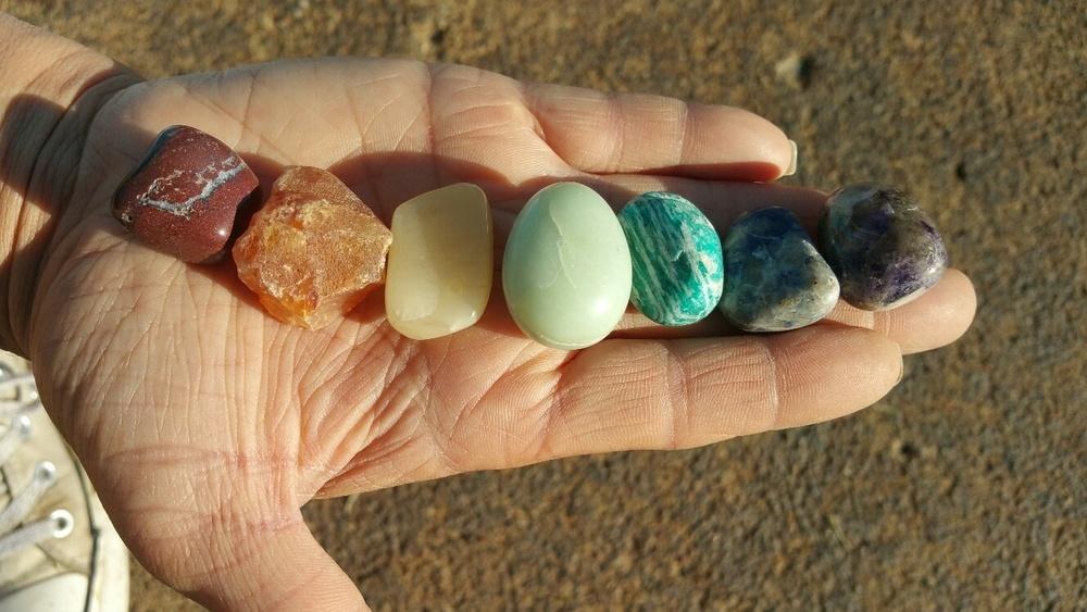 NEW Chakra Stones/Crystals Set