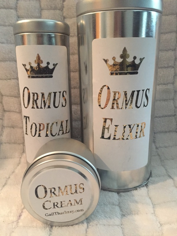 Ormus Products With John Of God Blessed Water - Choose From Cream, Elixir & Topical Spray With Tin!