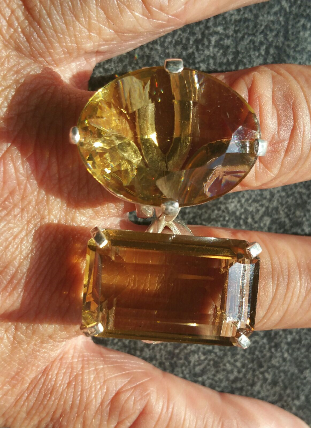 Gorgeous Large Citrine Casa Rings *NEW* Only 1 Of Each Available!