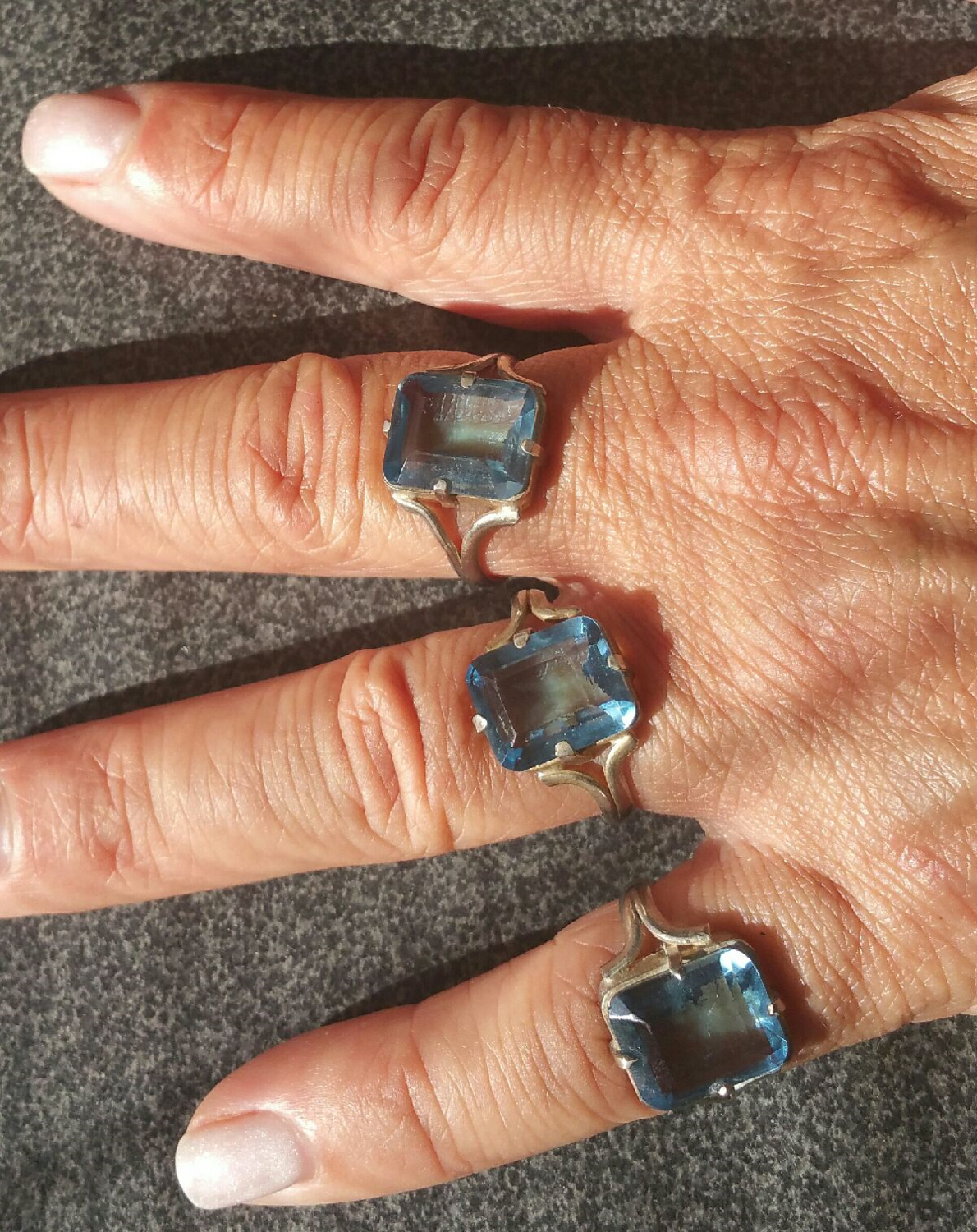Casa Rings *NEW* Gorgeous Blessed Casa Blue Topaz - I Only Have A Few! So Blue & Sparkly!!
