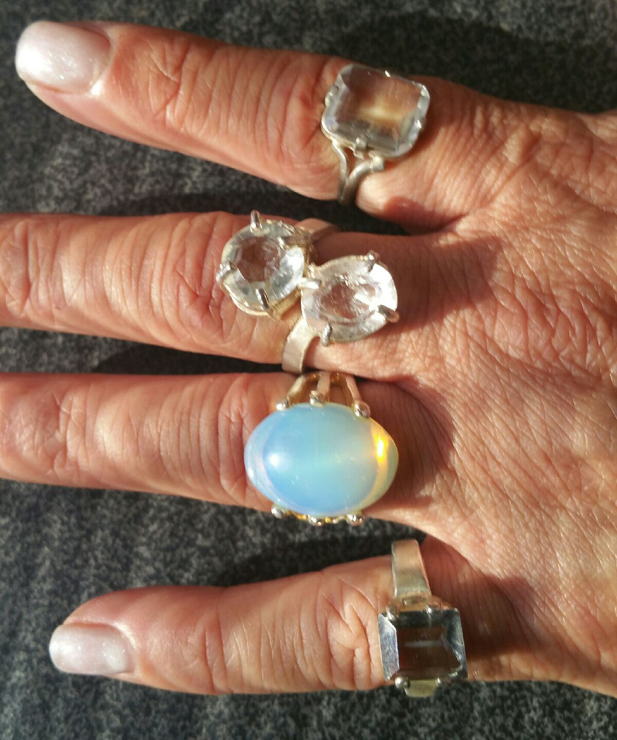 Casa Rings *NEW* Gorgeous Powerful Stones - Only 1 Of Each Available!